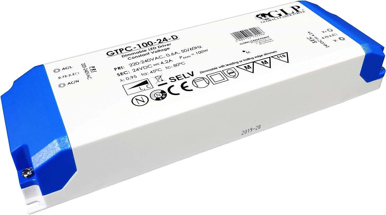 Alimentatore di rete 24 V CC intensit/à regolabile da incasso trasformatore