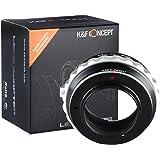 K&F Concept Bague d'adaptation pour monter objectif Nikon G AF-S F vers monture Micro 4/3 M4/3 comme Panasonic DMC-G1 DMC-G2 DMC-G3 DMC-GH1 DMC-GH2 DMC-GF1 DMC-GF2 DMC-GF3 DMC-GF7 DMC-G10 en Métal