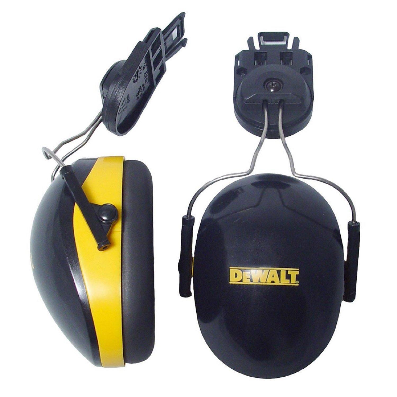 DEWALT DPG66-D Cap-Mount Interceptor Earmuff NRR 26dB, Black/Yellow