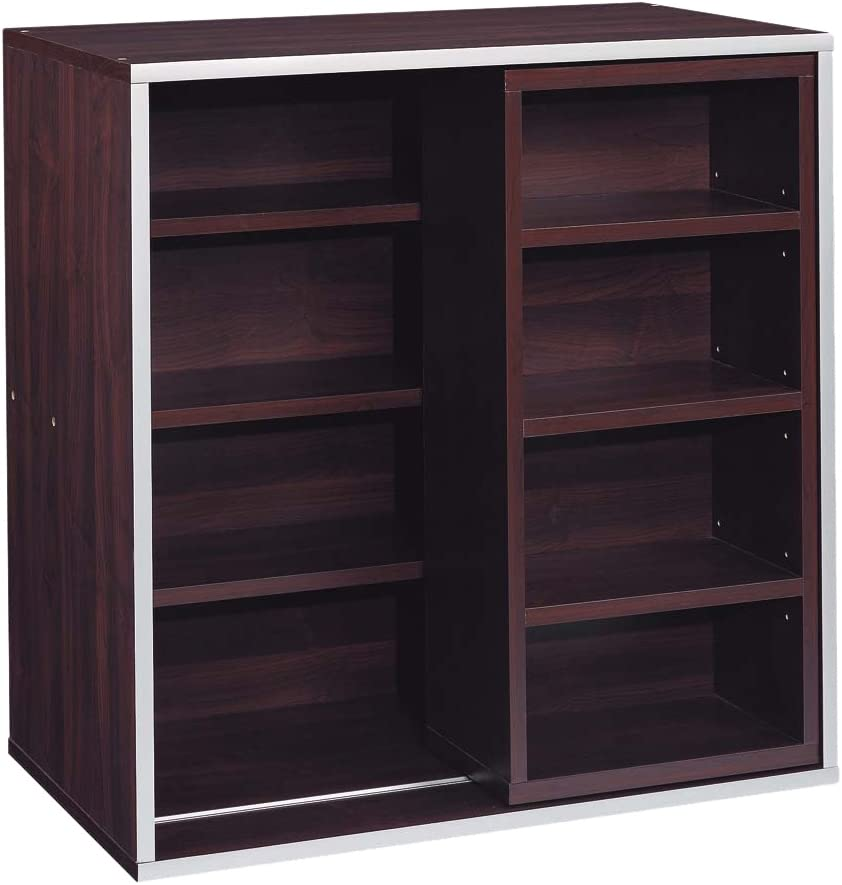 Organize It All Quadrant Sliding Shelf Quad Cube