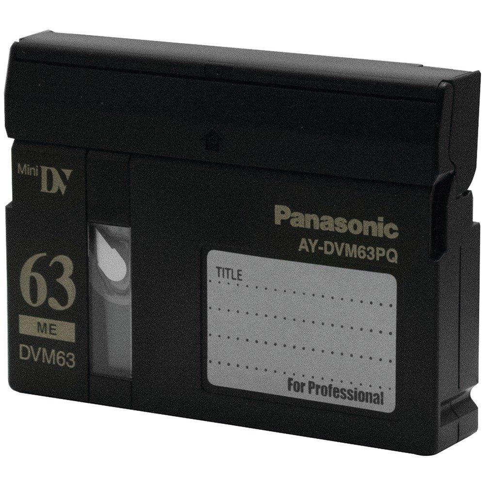 Panasonic AY DVM63MQ - Master - Mini DV tape - 10 x 63min [Electronics] AY-DVM63MQ