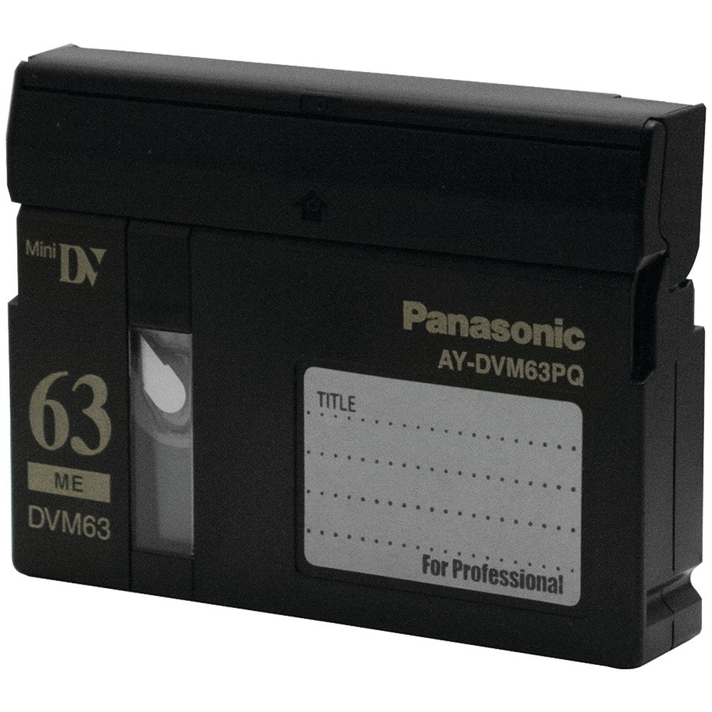 Panasonic AY DVM63MQ - Master - Mini DV tape - 10 x 63min [Electronics] by Panasonic