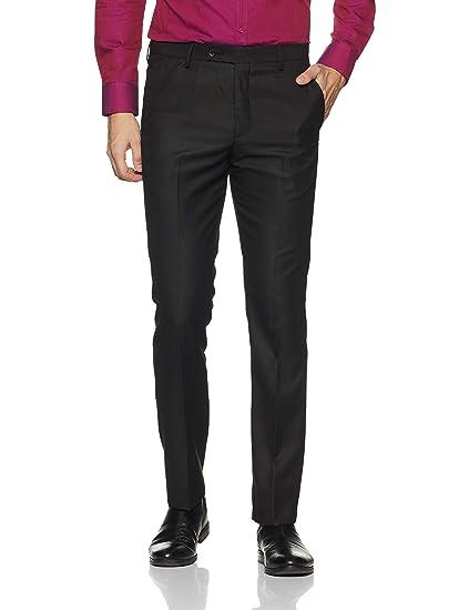 Arrow Men S Pleat Front Formal Trousers Amazon In Clothing