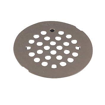 moen kingsley 414inch snapin shower drain cover