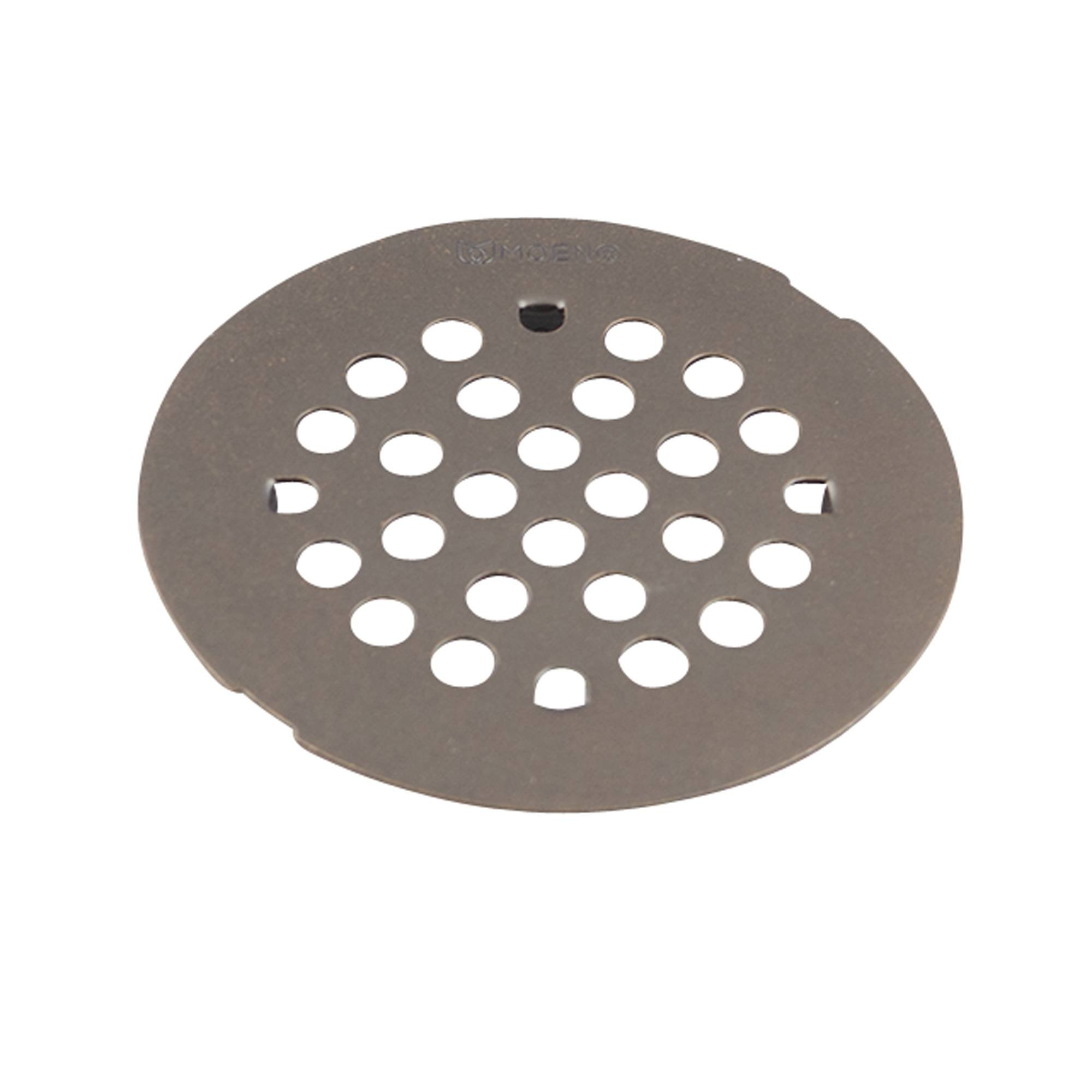 Moen 101663ORBMOENF Kingsley 4-1/4-Inch Snap-In Shower Drain Cover, Oil Rubbed Bronze