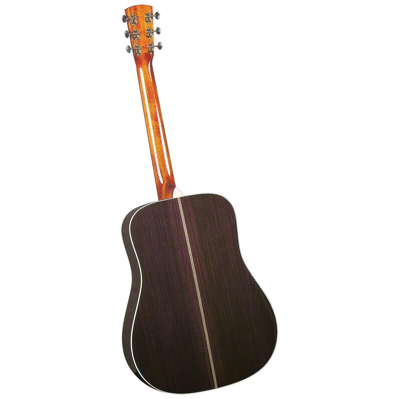 Blue Ridge BR-160A Craftsman tapa de pícea Adirondack Dreadnaught incrustaciones de guitarra con diseño de Zig Zag: Amazon.es: Instrumentos musicales