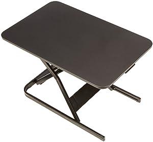 AmazonBasics Height Adjustable Sit-Stand Desk Converter