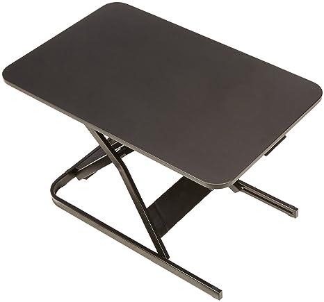 Wondrous Amazonbasics Height Adjustable Sit Stand Standing Computer Desk Converter Home Interior And Landscaping Ponolsignezvosmurscom
