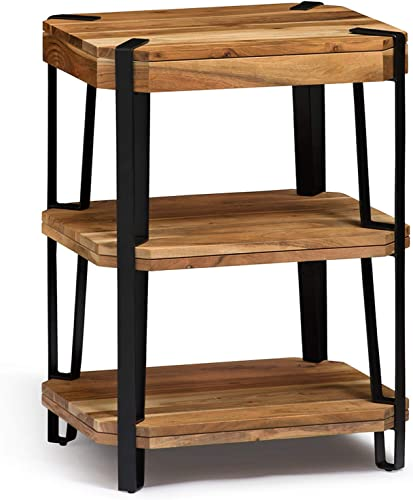 Alaterre Furniture Ryegate Natural Solid Wood