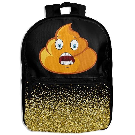 Amazon.com | Cute Poop Emoji Glitter Golden