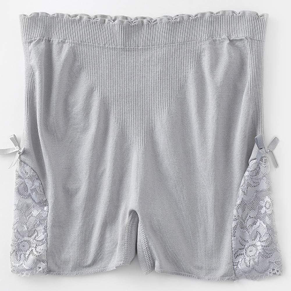 Vertvie Femme 1//3 Pi/èces sous-v/êtement Boxer Slip Culotte de S/écurit/é Invisible Soie Glac/ée Shorties Seamless Doux pour Robe Jupe