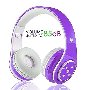 Amazon.com: Auriculares Bluetooth inalámbricos para niños ...