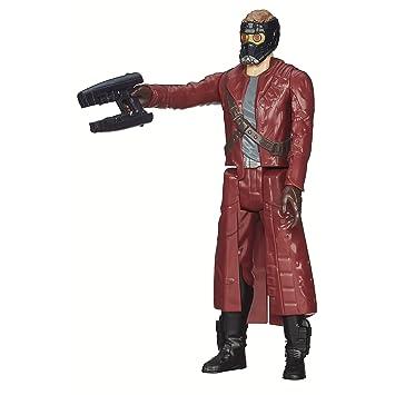 Marvel Guardians of The Galaxy Titan Hero Series Star-Lord Figure, 12