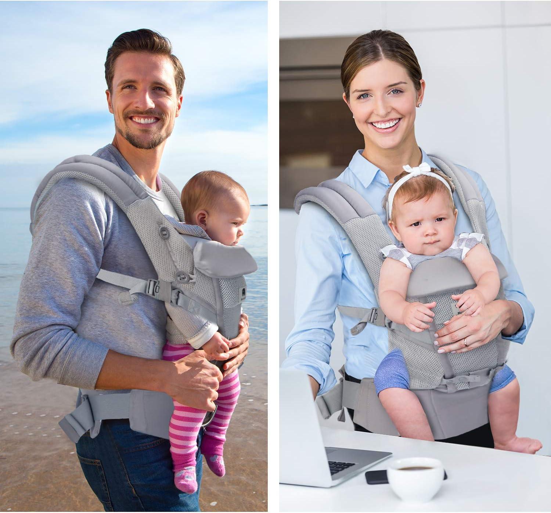 Domybest Baby-Tragetasche mit Vorderseite 0-24 Monate atmungsaktiv