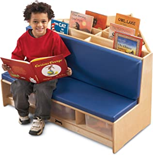 product image for Jonti-Craft 53410JC Corner Literacy Nook, Red