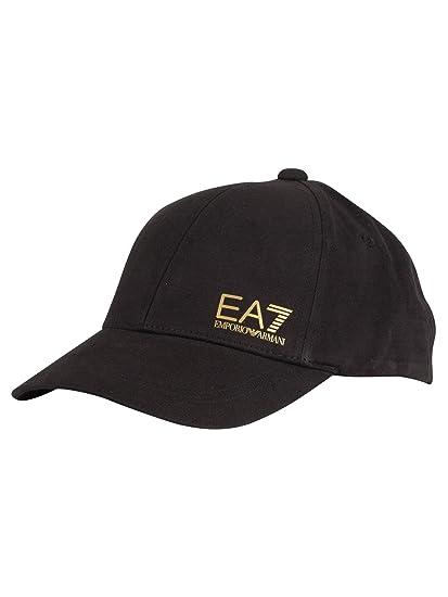 579b0e197308a5 EA7 Men's Train Core Baseball Cap, Black, One Size: Amazon.co.uk ...