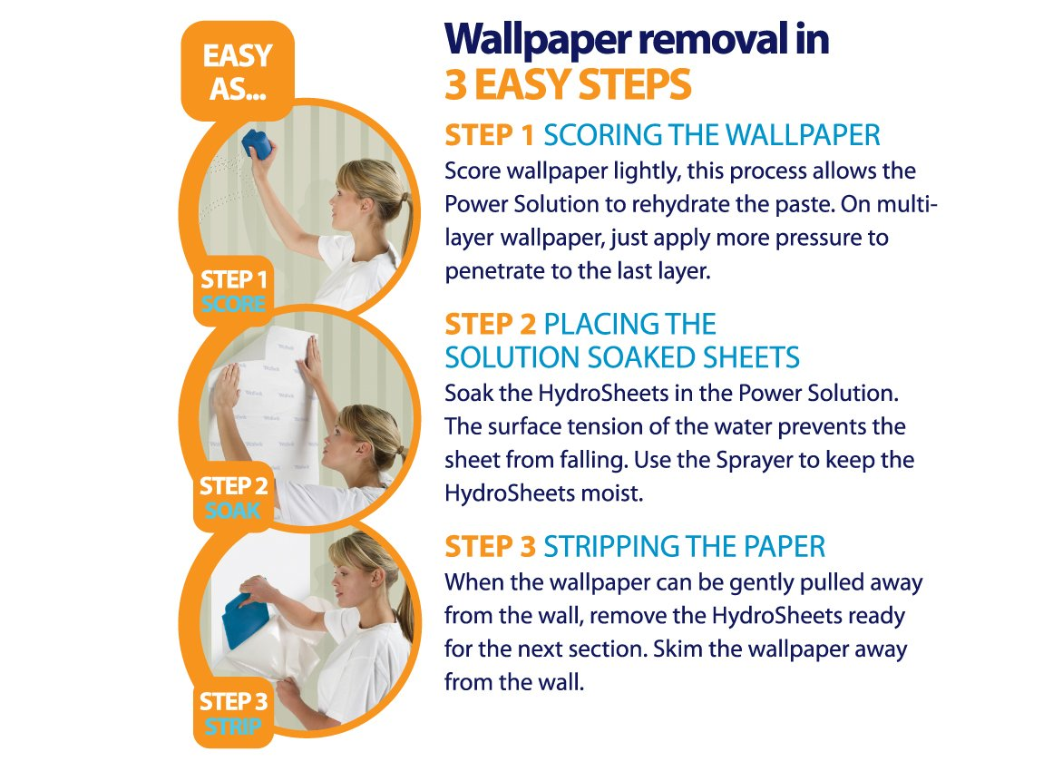 Simple Strip Small Project Wallpaper removal Kit