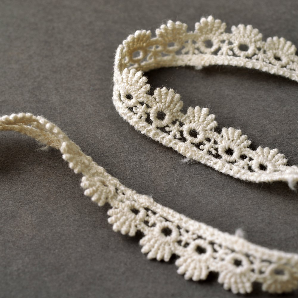TR-10971 1//2 Vintage Embroidery Lace Trim by 3-Yards