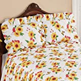 Collections Etc Sunflower Butterfly Sham Gold SHAM