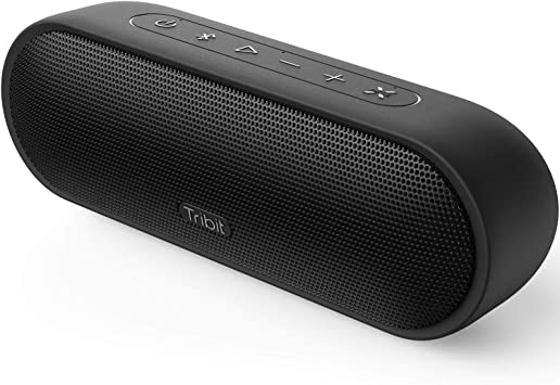 Amazon Com Tribit Maxsound Plus Portable Bluetooth Speaker 24w Wireless Speaker With Powerful Louder Sound Exceptional Xbass Ipx7 Waterproof 20 Hour Playtime 100 Feet Bluetooth Range For Party Travel Outdoor Electronics