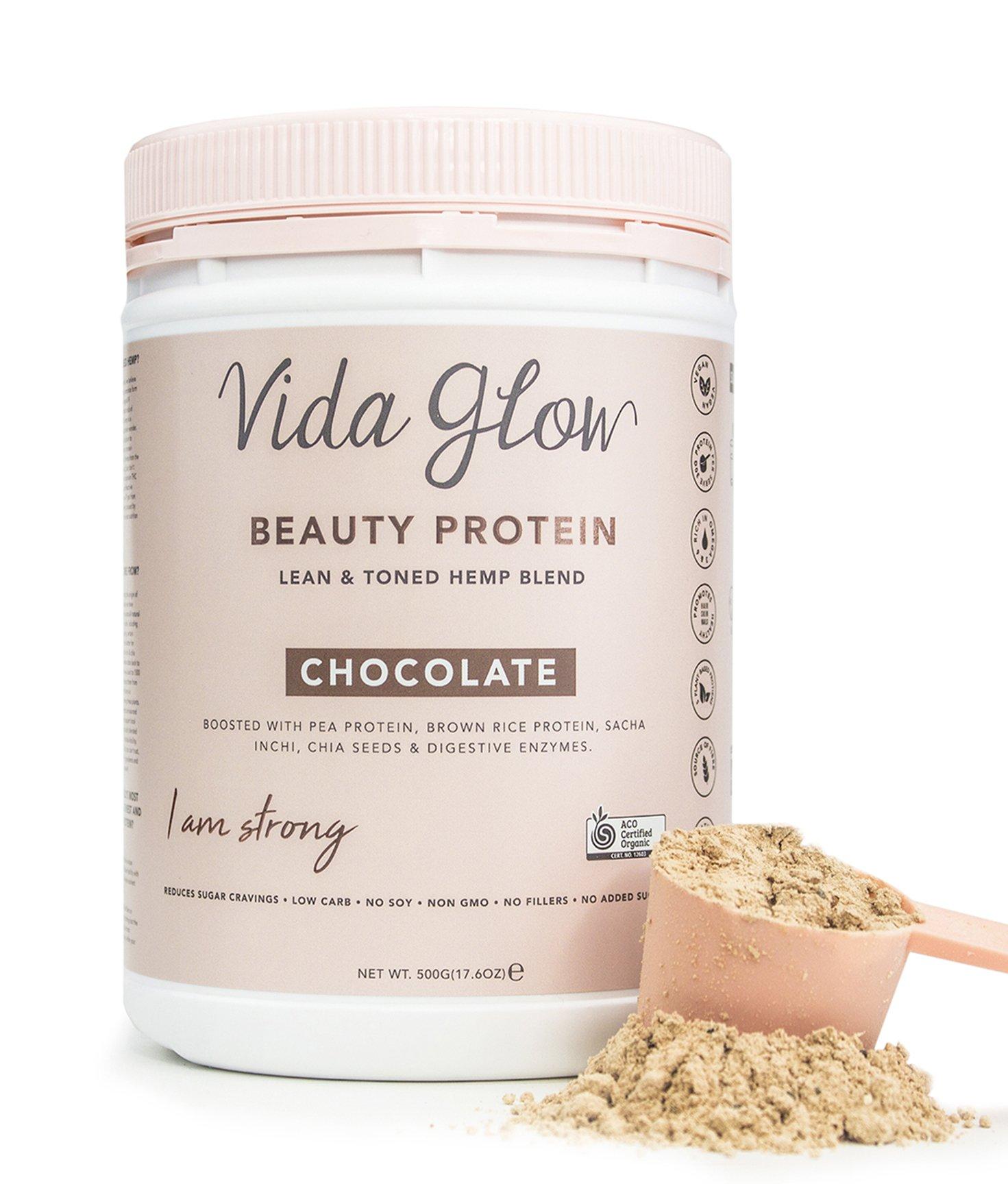 Vida Glow Beauty Protein Powder (CHOCOLATE)