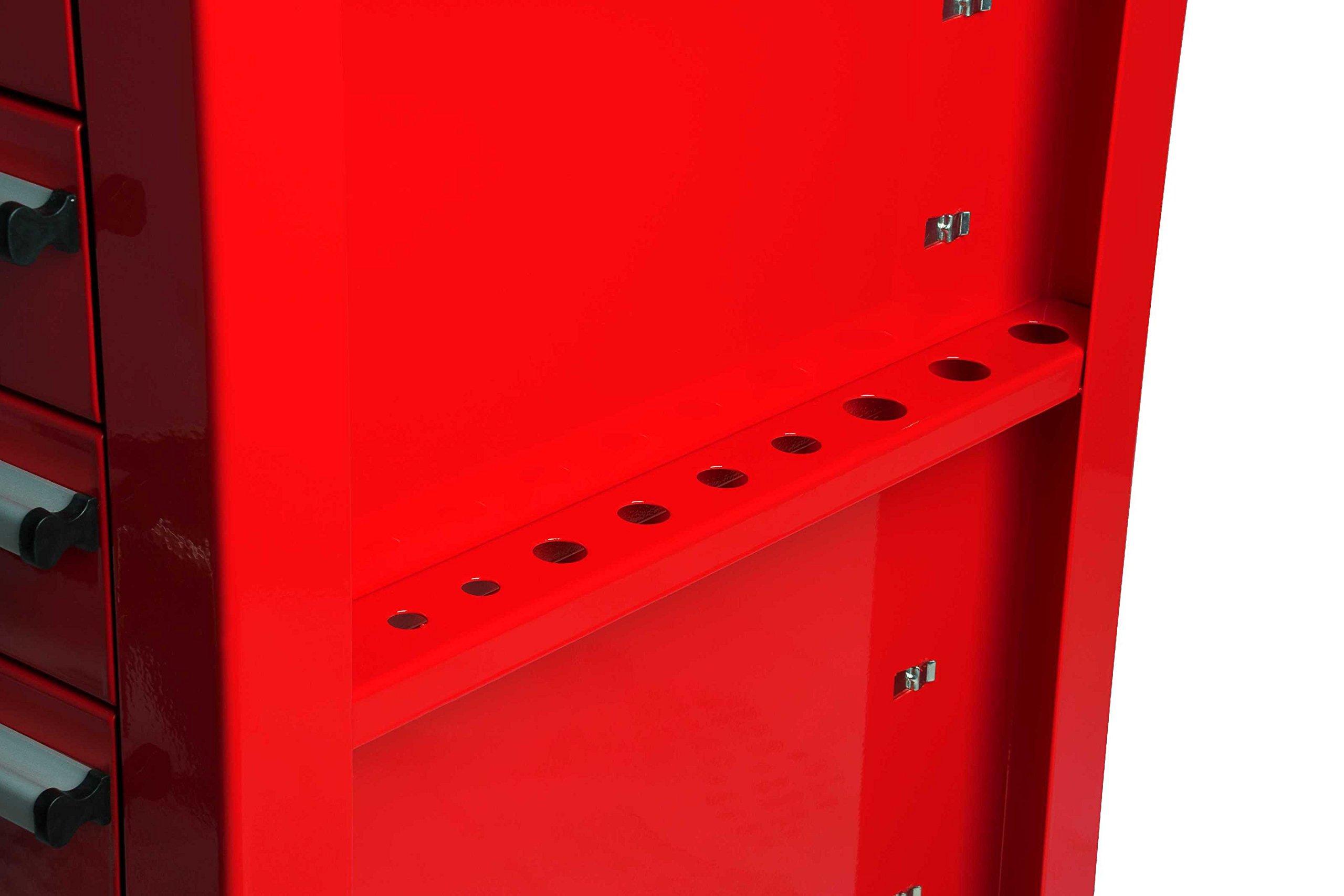 Sunex 8057 Premium Full Drawer Service Red Cart by Sunex Tools (Image #7)