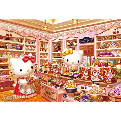 1000 piece jigsaw puzzle Sanrio Hello Kitty candy shop (49x72cm)
