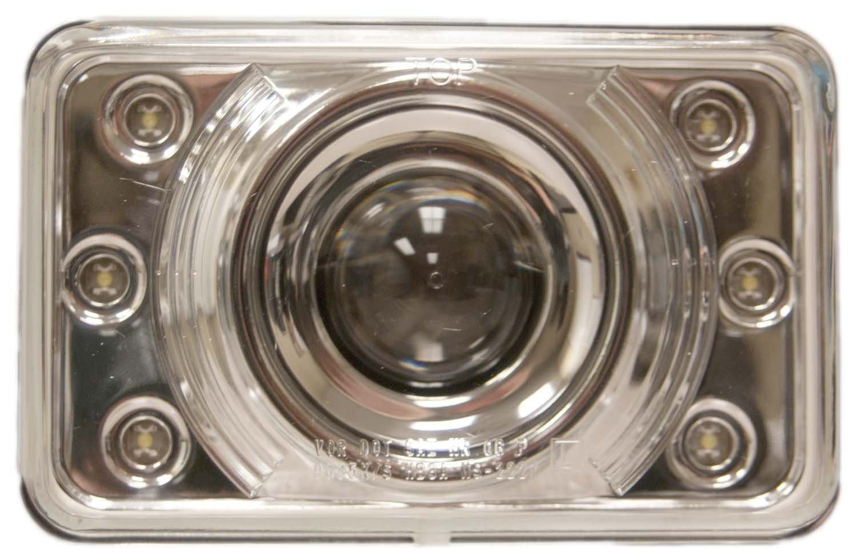 United Pacific 31375 Headlight Automotive Jeep Xj Halo Headlights Wiring