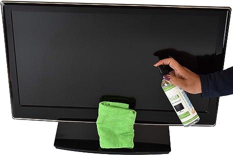 DON GATO - Limpia Pantallas + Paño Microfibras (250ml) para Televisor, Tableta, Ordenador portátil, LCD, LED, Teléfono móvil. Hecho con productos naturales y respetuoso con el medio ambiente.: Amazon.es: Electrónica