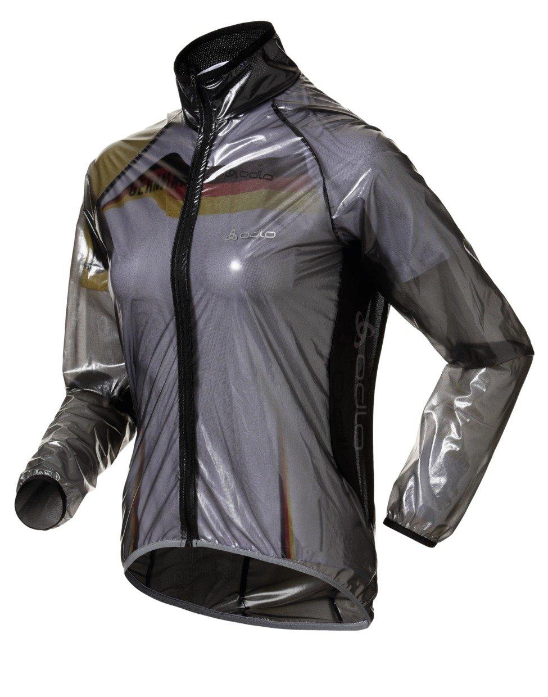 Odlo, Giacca a vento ciclismo Donna Hardshell Mud 410761