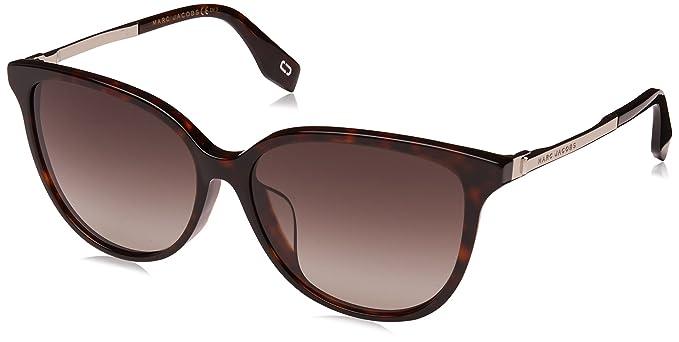 Amazon.com: Marc Jacobs Womens Marc307fs Oval Sunglasses ...