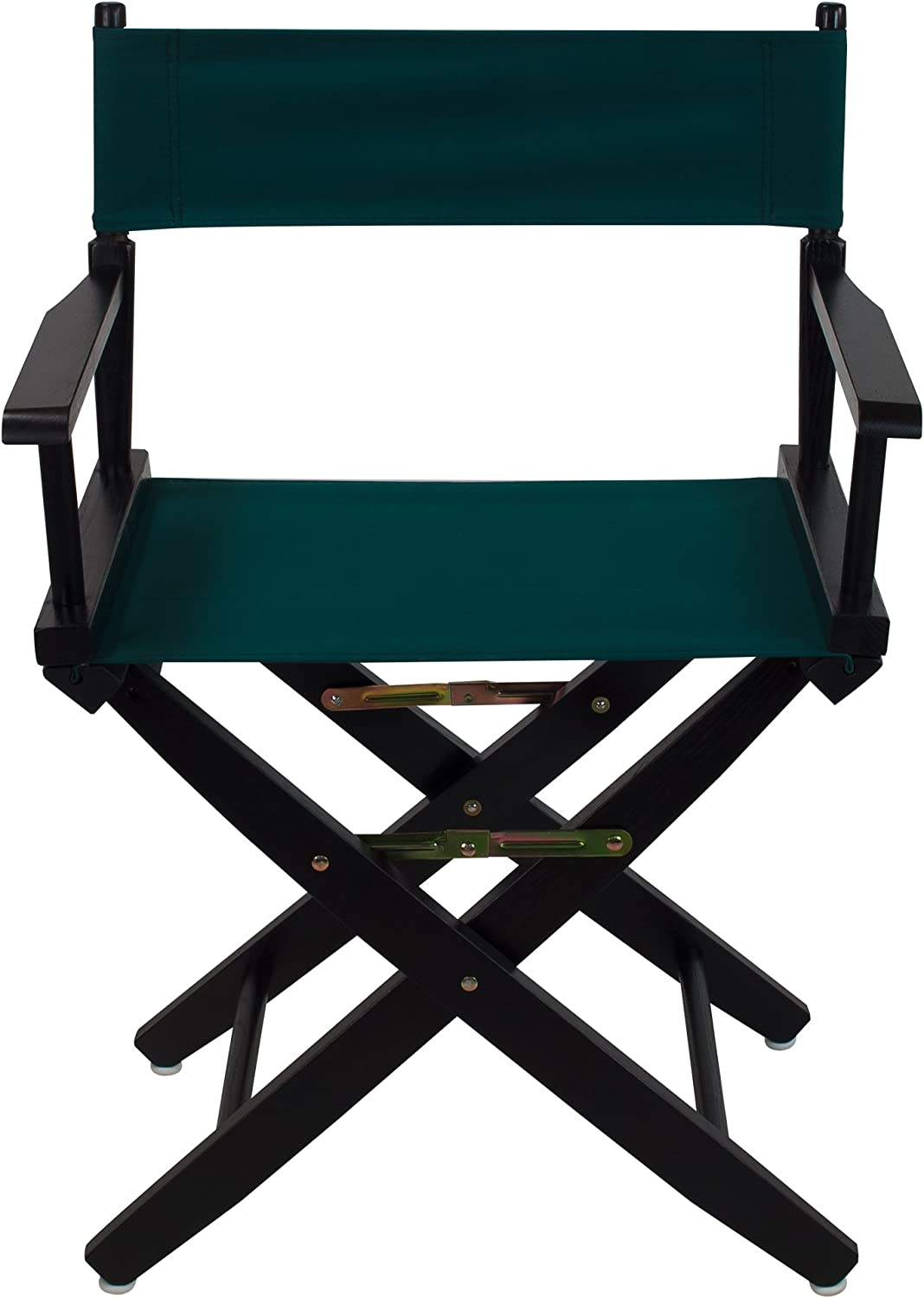 American Trails Extra-Wide Premium 18 Directors Chair Black Frame with Hunter Green Canvas