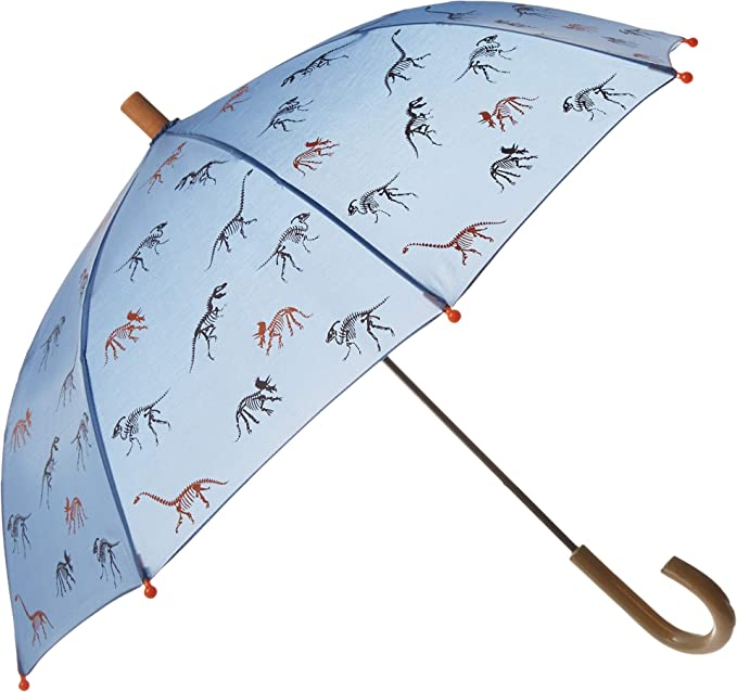 bae02982d53ff Amazon.com: Hatley Boys' Little Printed Umbrellas, Silhouette Dinos ...