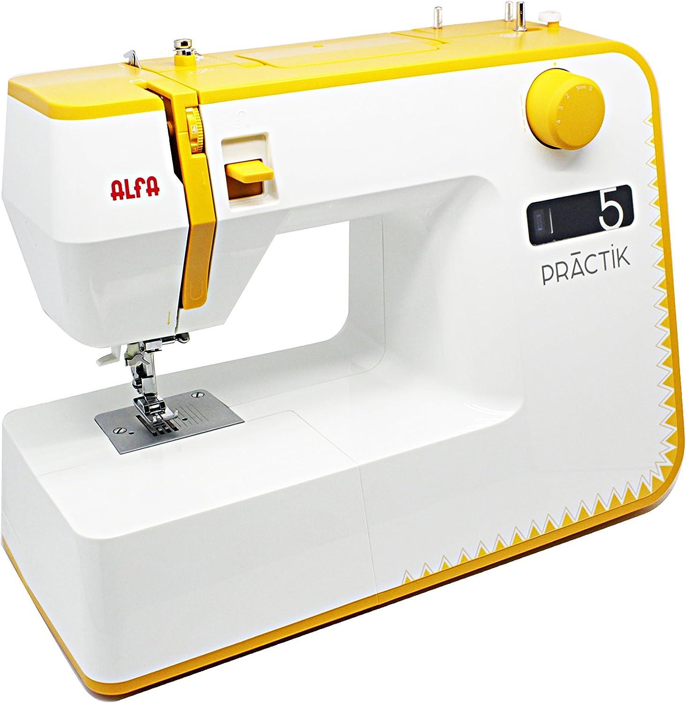 Maquina de coser Alfa practik 5