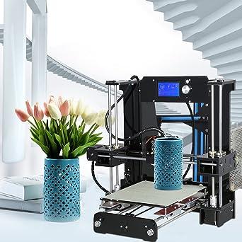 Impresora 3D Anet A6, Pantalla LCD Escritorio Impresora ...