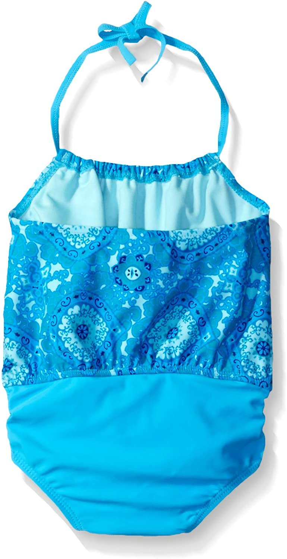 Tommy Bahama Girls Baby One Piece Halter Tankini Swimsuit