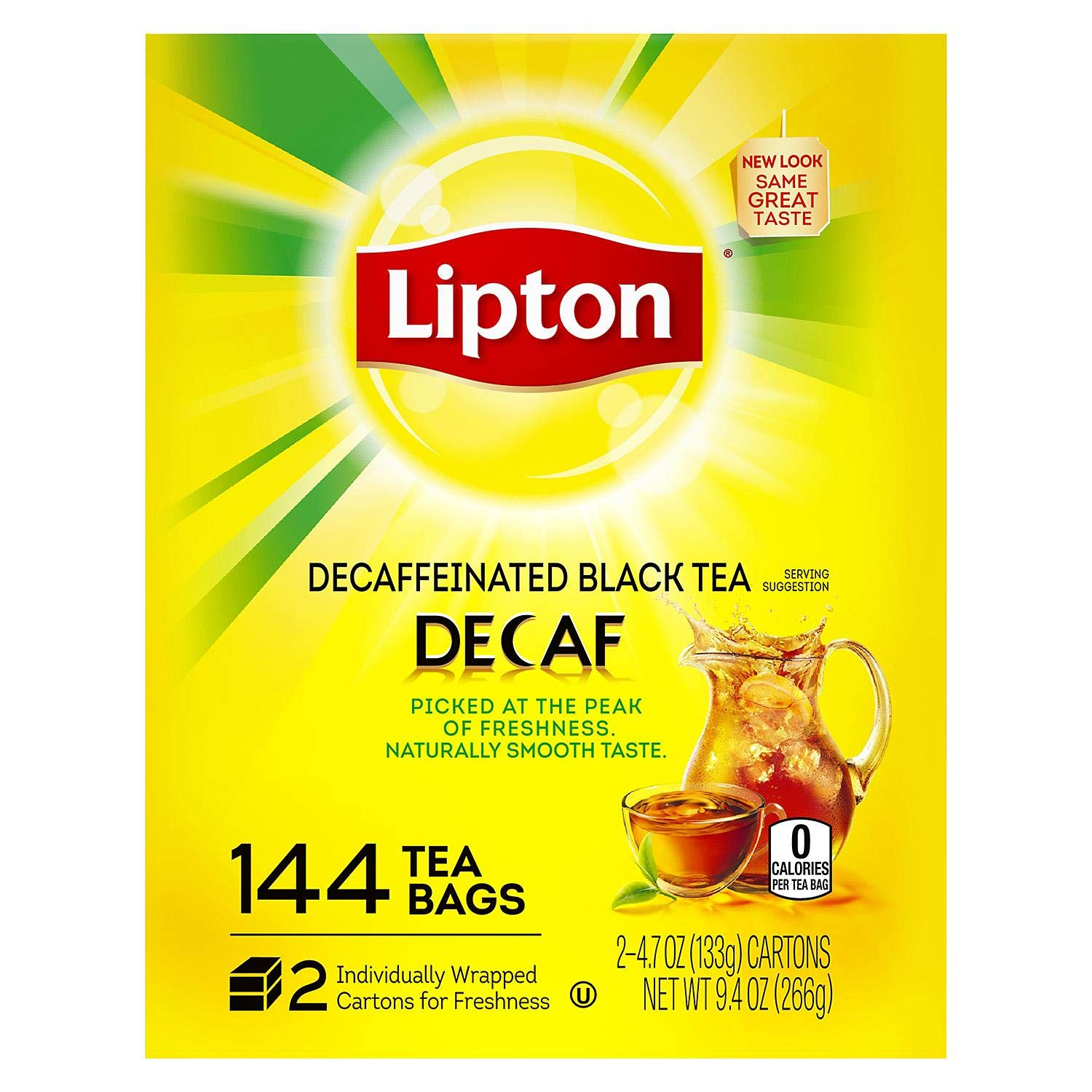 Lipton Tea Bags, Decaffeinated, 144 ct.