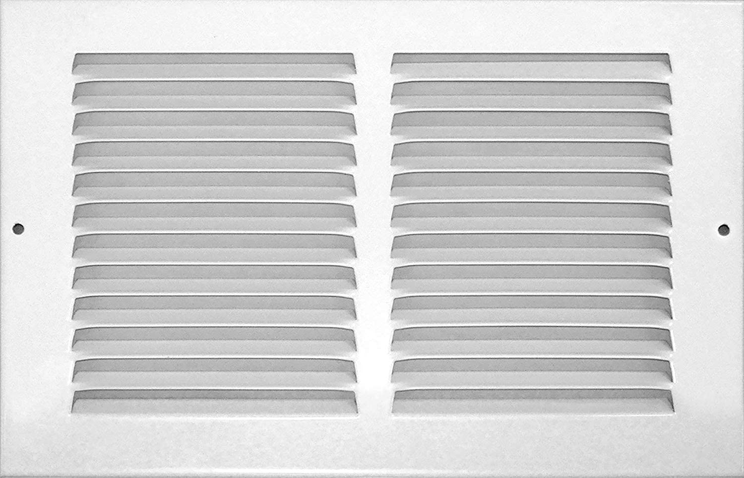 Accord ABRGWH126 Return Grille with 1/2-Inch Fin Louvered, 12-Inch x 6-Inch(Duct Opening Measurements), White