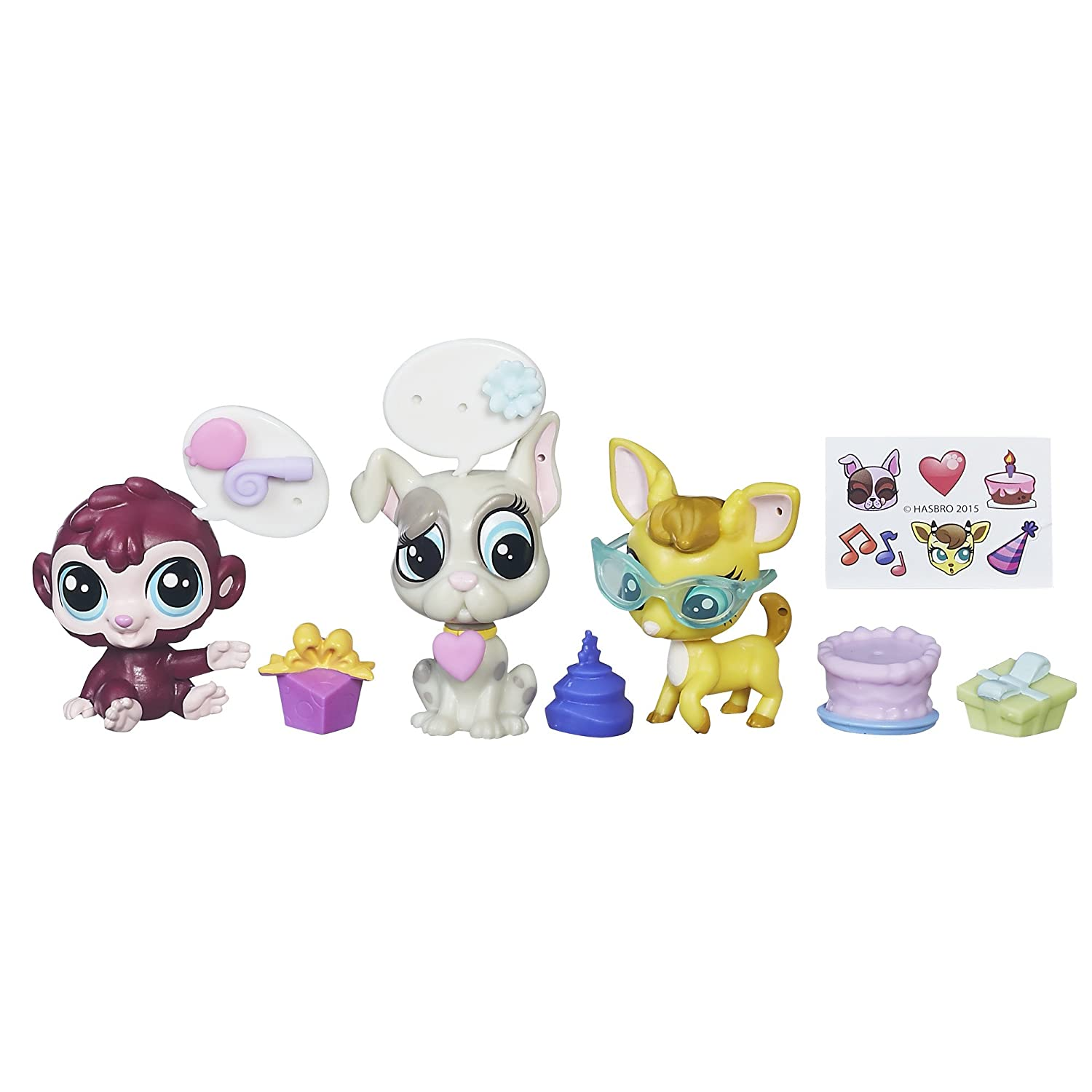 Amazon.com: Littlest Pet Shop Park Party: Toys & Games