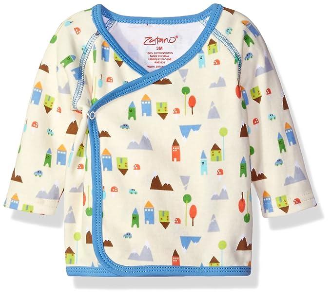7c2134d5b Amazon.com: Zutano Baby Printed Kimono Top, St Moritz, New Born ...