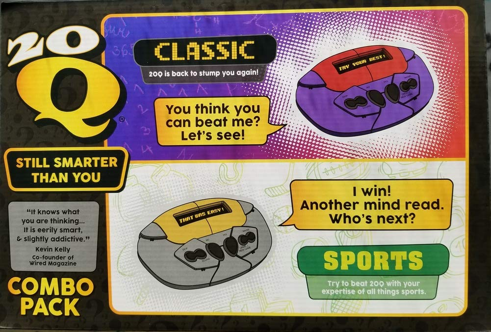 20Q Classic and 20Q Sports Exclusive Combo Bundle!!