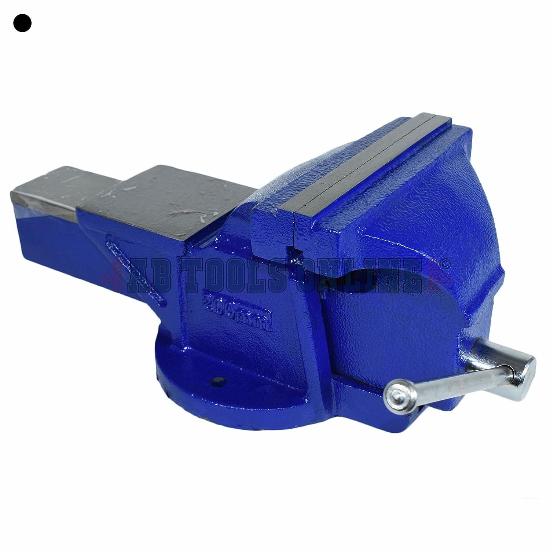 200mm Vicepresidente de Ingenieros Mec/ánicos de tornillo de banco de hierro fundido Yunque soporte de sujeci/ón 8