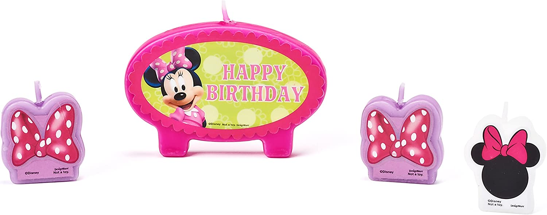 Amazon.com: 12 globos de Minnie Mouse por Bowtique: Toys & Games
