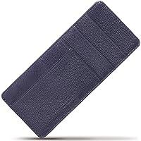 BLUE SINCERE カードケース インナーカードケース 薄型 本革 RFID レディース 長財布用 9枚収納 レシートスペース ICC1