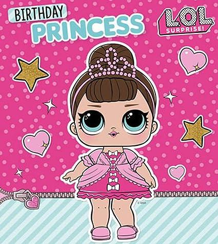 LOL Surprise LO008 Tarjeta de cumpleaños