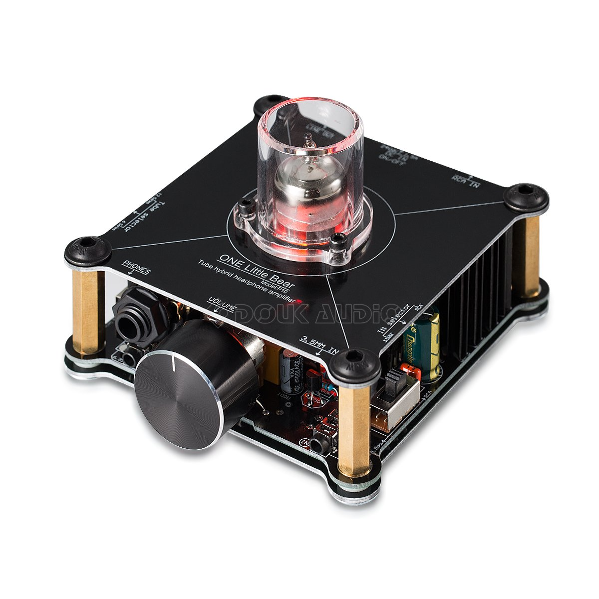 Nobsound Little Bear P10 HiFi MOSFET Class A 12AU7 Tube Multi-Hybrid Headphone Amplifier Stereo Audio Preamplifier Preamp