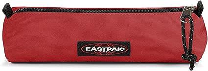 Eastpak - Estuche cilíndrico con cremallera, color rojo vivo, ideal para la escuela: Amazon.es: Oficina y papelería