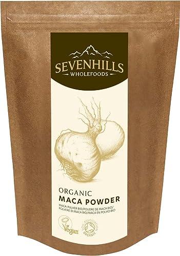 Sevenhills Wholefoods Organic Raw Maca Powder 500g