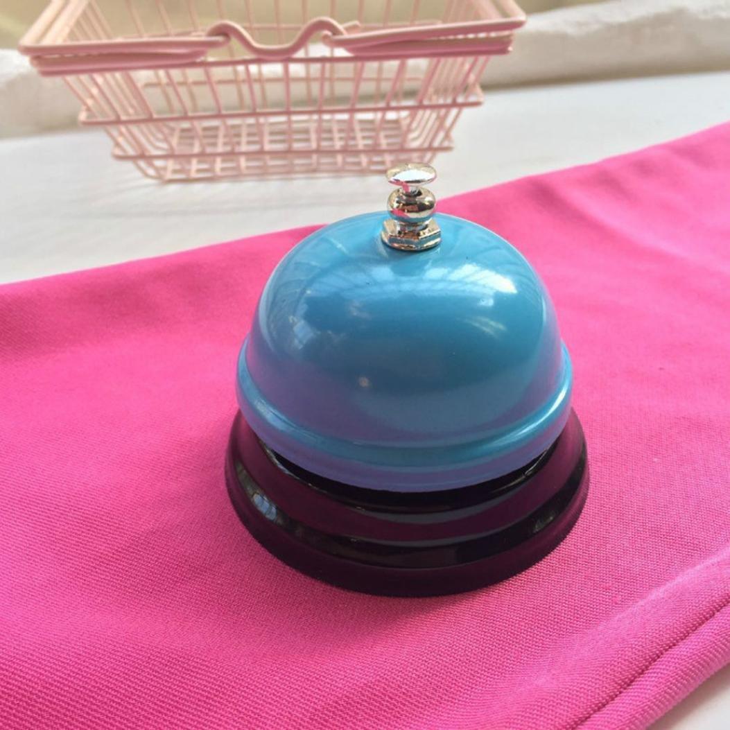 A HUHU833 Call Bell Kitchen Bell,Reception Restaurant Kitchen Bar Service Call Desk Bell