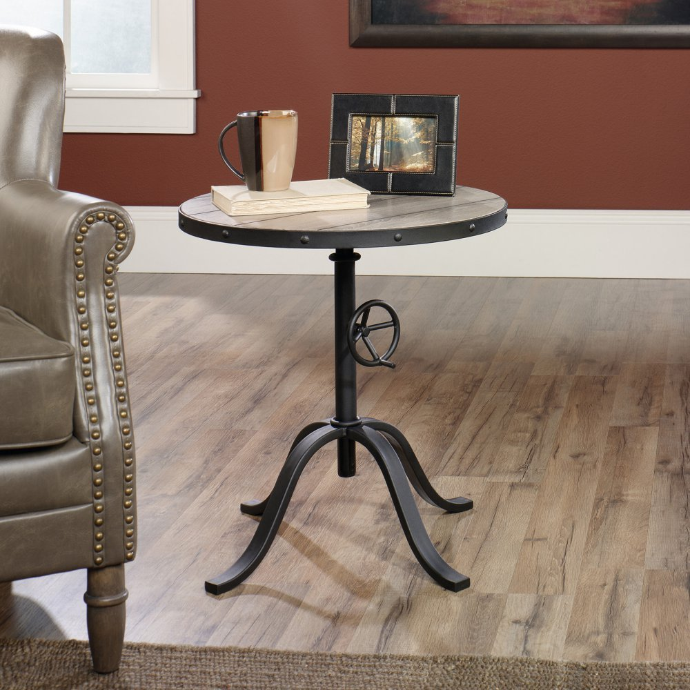 Amazon Pedestal Table in Mixed Media Finish Kitchen & Dining